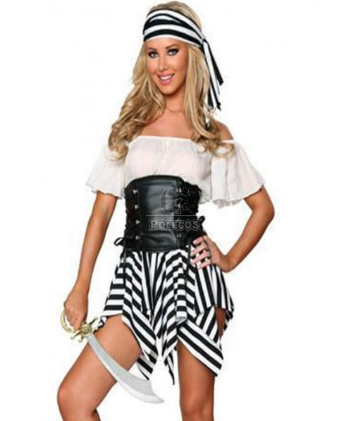 Pirate Of The Caribbean Personality Cosplay Costume Comforable