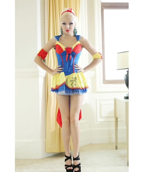 Women's Lovely Snow White Sexy Cosplay Fancy Dress Creative Costumes