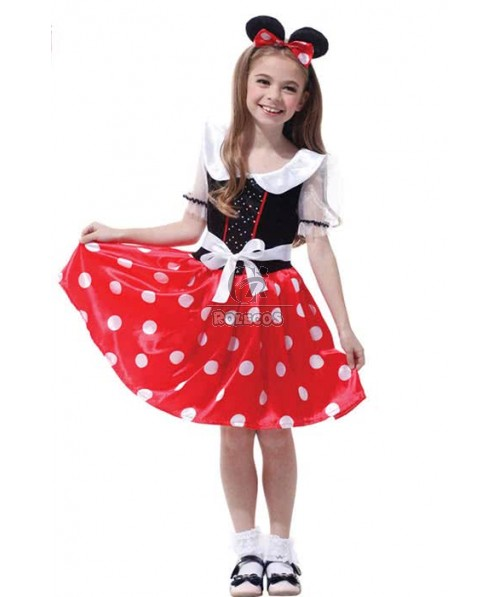 Children's Halloween Party Costume Cute Mickey Mouse