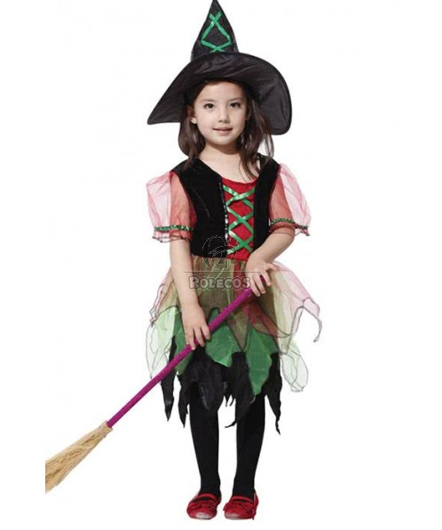 Halloween Party Costume Witch For Children