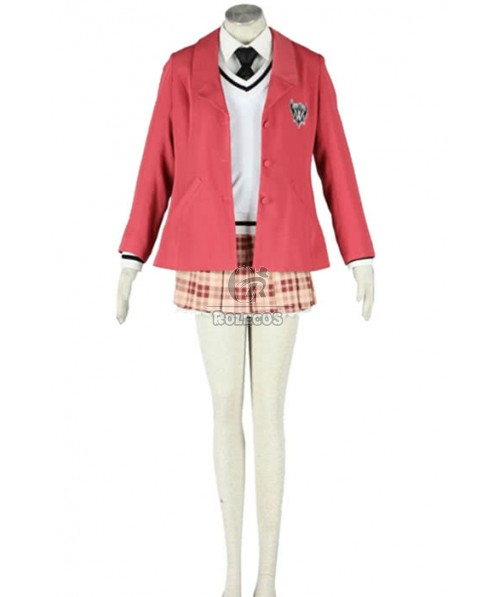 Axis Powers APH Cosplay Costume Pink Unfirom Clothing