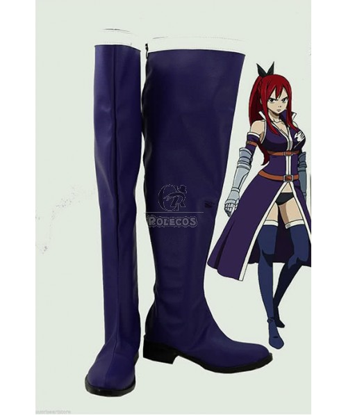 Fairy Tail Cosplay Shoes Boots - Ilusa