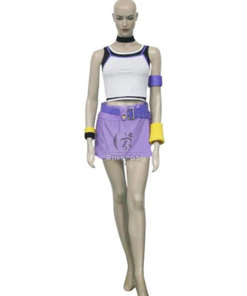 Kingdom Hearts 1 Kairi Cosplay Costume With Cool Design