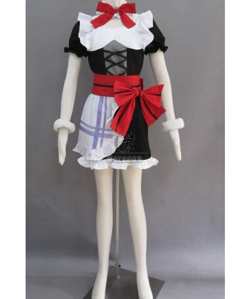 Love Live! Eli Ayase Cosplay Costume With Red Bowknot