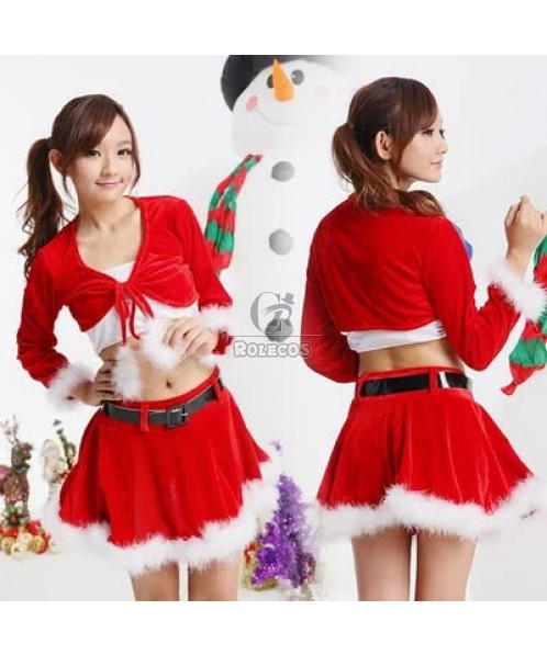 The latest Christmas costumes stage uniform performance clothings for women