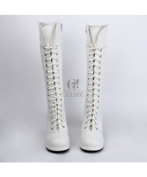 Japan Sweet Lolita cosplay punk Butterfly Boots Doll  platform