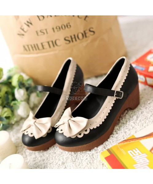 New Arrive Bow Straps Platform Sandals Shoe Open-toed Shoes