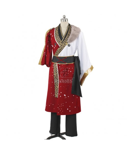Ensemble Stars Red Moon Cosplay Costume