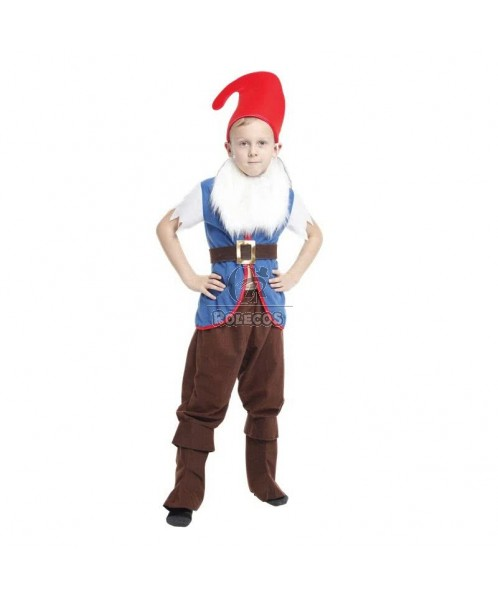 New Style of  Blue Children Christmas Costume of Boy Elf  Suit