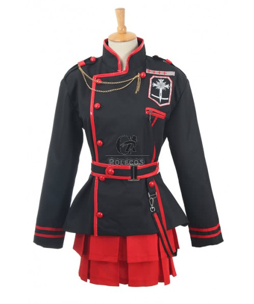 D.Gray-man Lenalee Lee Generation 3rd Cosplay Costume