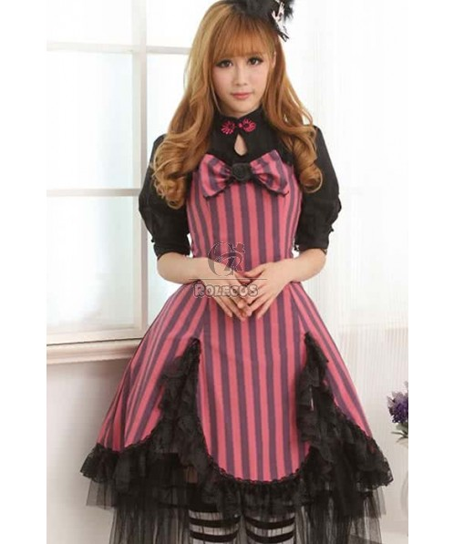 Lovely Sweet Lolita Dresses Beautiful cloth with Bowknot