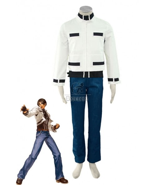 The King Of Fighters Kyo Kusanagi Men Cosplay Costumes