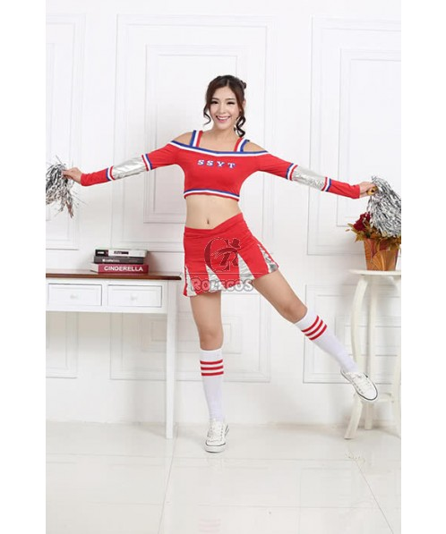 Football Cheerleader Costumes So Personality Two Color