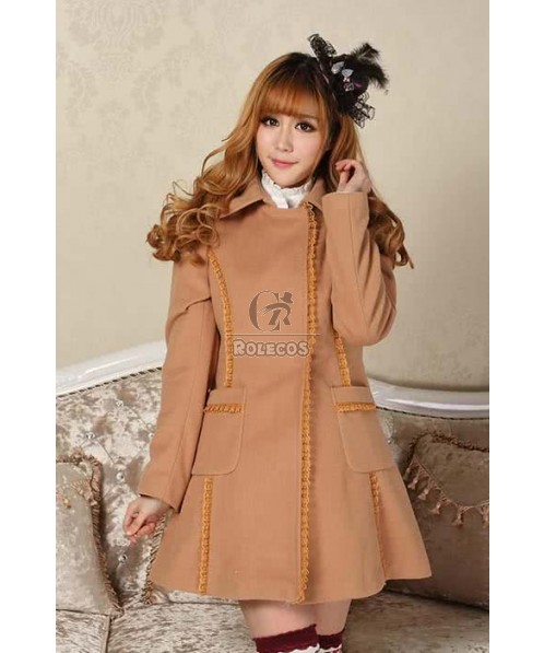 Grace Lolita Coat Christmas classical Lace bowknot dress