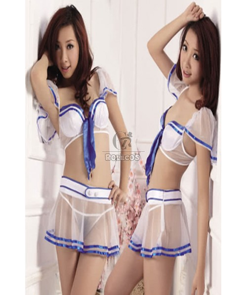 Sexy Cheerleader Fashion Girl Costumes Wild Nature