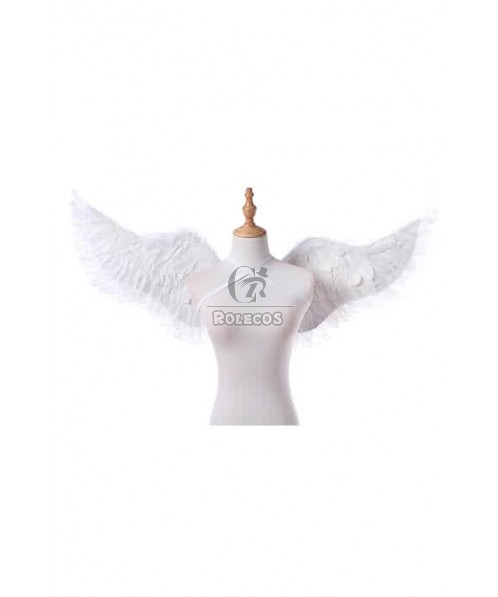 White Good Quality Anime Cosplay Wings