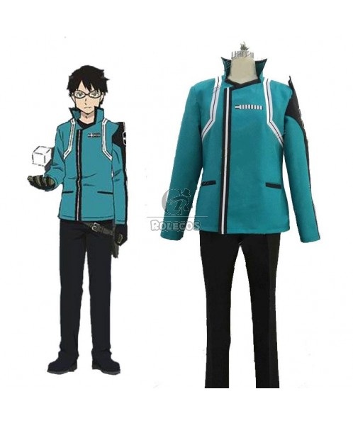 World Trigger Mikumo Osamu BlueCosplay Costumes