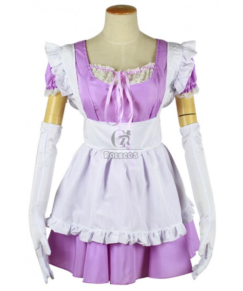 Multicolor Japanese Maid Costumes of Sexy Lingerie Game Uniforms
