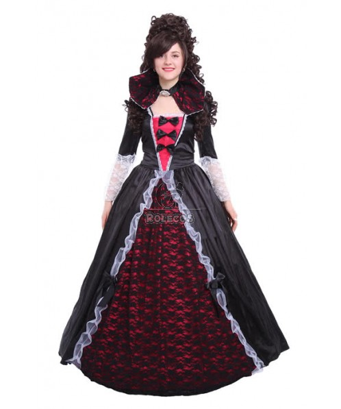 Witch Corpse Queen Cosplay Costume Black