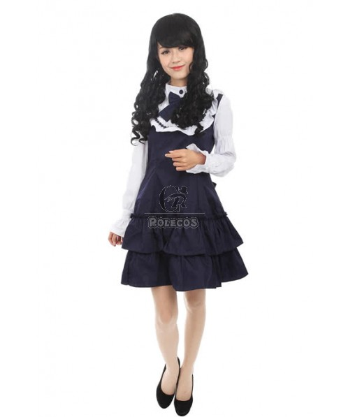 Lolita Princess Dress Cosplay With Two Color
