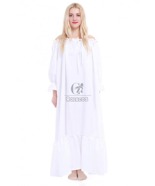 Lolita White Princess Dress For Ladies With Special Sleeve