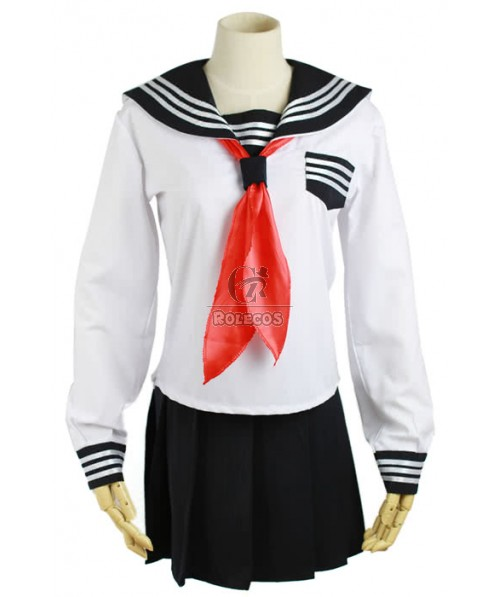 Classic Sexy Skirt Sailor Costume of Students with Long Sleeves
