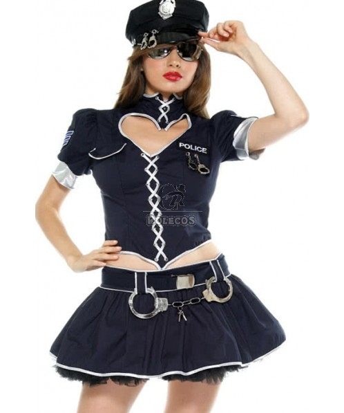 Cool Uniform Policewoman Costumes Show Your Sexy Body