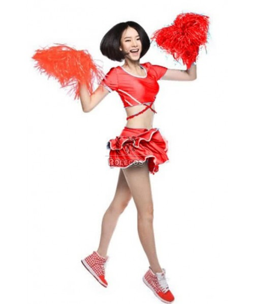 The New Sexy Cheerleader Fashion Girl Costumes