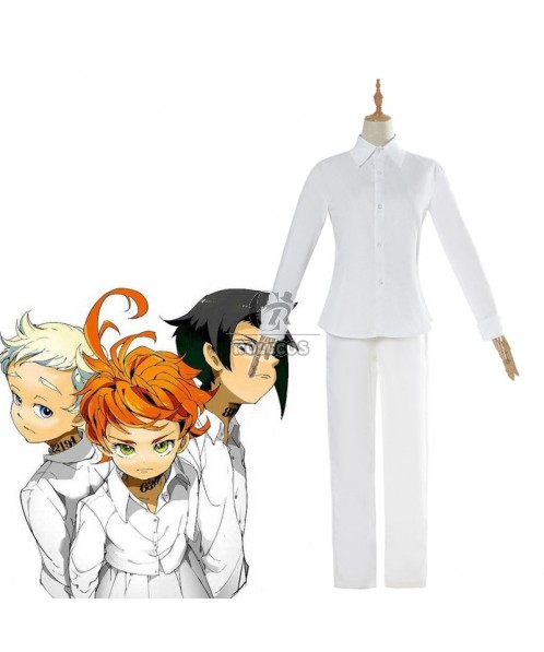 The Promised Neverland Norman&Ray Cosplay Costume