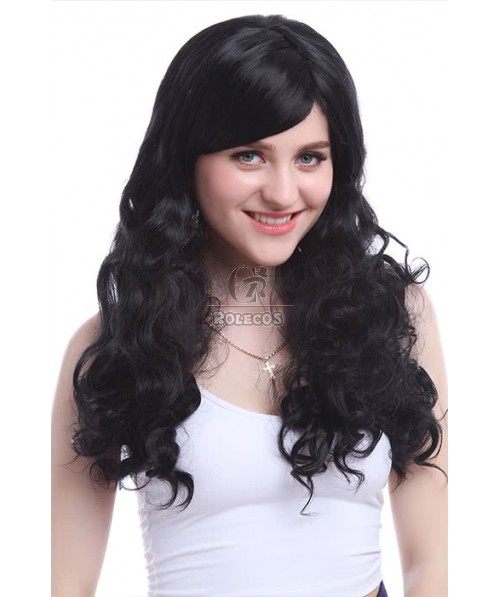 Cosplay Wigs Classic Lolita Long Wave Hair Wigs zy06