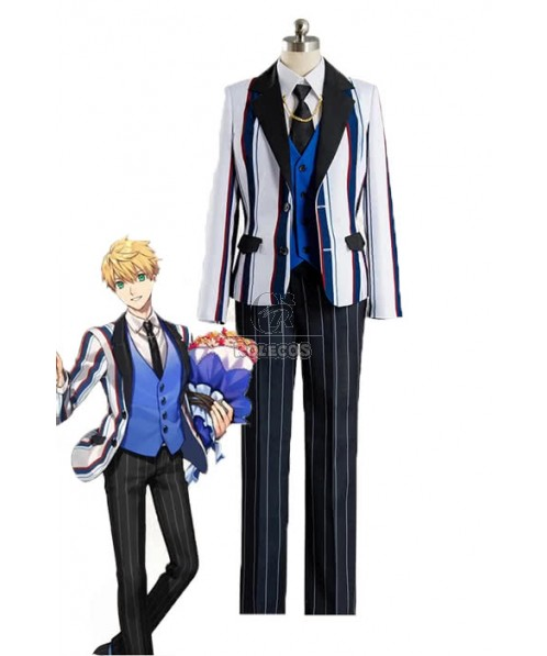 Fate/Grand Order Arthur Saber Anime Cosplay Costumes