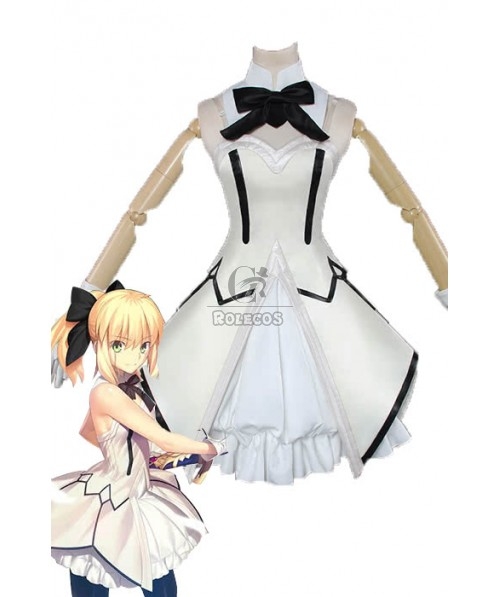 Fate/GrandOrder Saber Lily Anime Cosplay Costumes