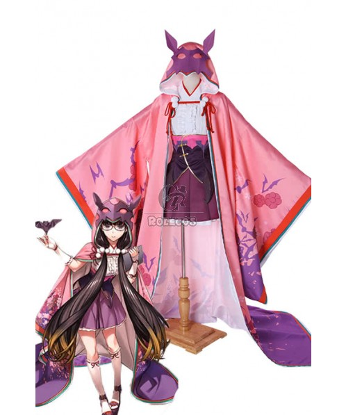 Fate/Grand Order Osakabe-hime Anime Cosplay Costumes