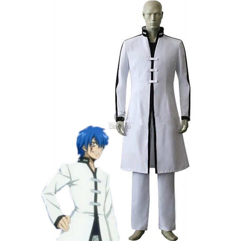 New! Fairy Tail Jellal Fernandes Clothing Cos Cloth Uniform Cosplay Costume#4