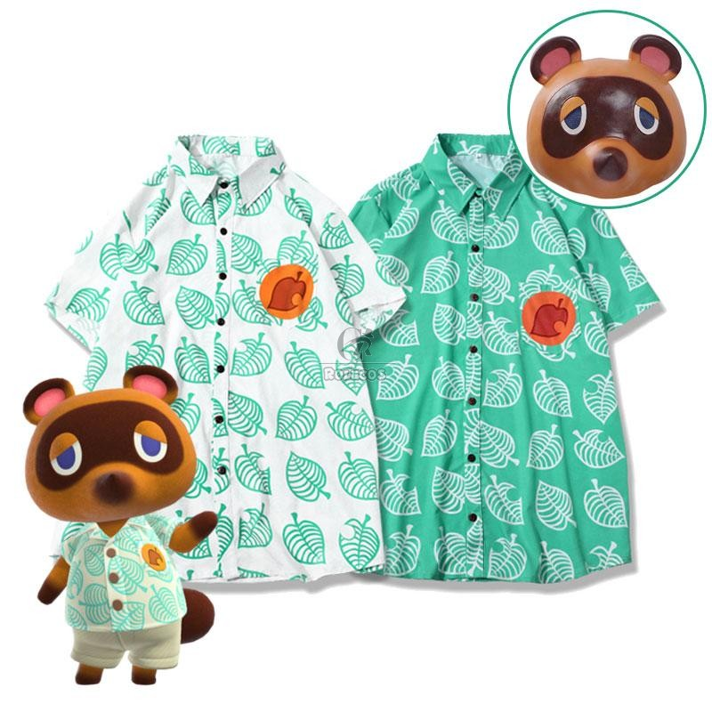 Buy Animal Crossing Tom Nook Shirt T-shirt Cosplay Costume For Sale - RoleCosplay.com