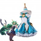 LOL Star Guardian Magical Girl Soraka Dress Game Cosplay Costumes
