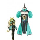 Fate/Apocrypha Archer of Red Servant Green Dress Cosplay Costumes