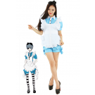 Black Butler Kuroshitsuji Ciel Phantomhive Maid Dress Cosplay Costumes