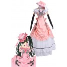 Black Butler Ciel Phantomhive Cosplay Costumes Pink Princess Dress