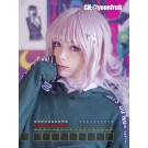 Cartoon Dangan-Ronpa 2 Chiaki Nanami Female Medium Taro Cosplay Wig