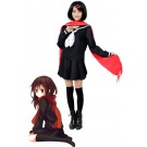 Kagerou Project Tateyama Ayano Black School Uniform Dress Cosplay Costume