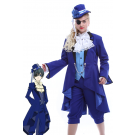 Ciel Phantomhive Cosplay Costume blue uniform with special design