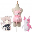 Dangan Ronpa2 Nanami ChiaKi Cat Backpack And Bear Doll