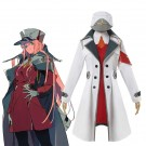 DARLING in the FRANXX Anime Cosplay Costumes 02 Zero Two Coat Uniform Cosplay Costume