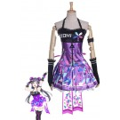 Love Live! Toujou Nozomi Cosplay Costume Purple Dress