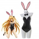 Golden Darkness Konjiki no Yami Black Bunny Girl Cosplay Costume