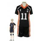 Haikyū!! Kei Tsukishima Number 11 Volleyball Sports Cosplay Costumes