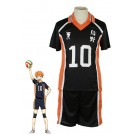 Haikyū!! Shōyō Hinata Number 10 Volleyball Sports Cosplay Costumes