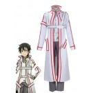 Sword Art Online Kirito Knights of the Blood White Cosplay Costume