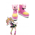 Kiznaiver Nico Niiyama Anime Cosplay Shoes Pink Shoes